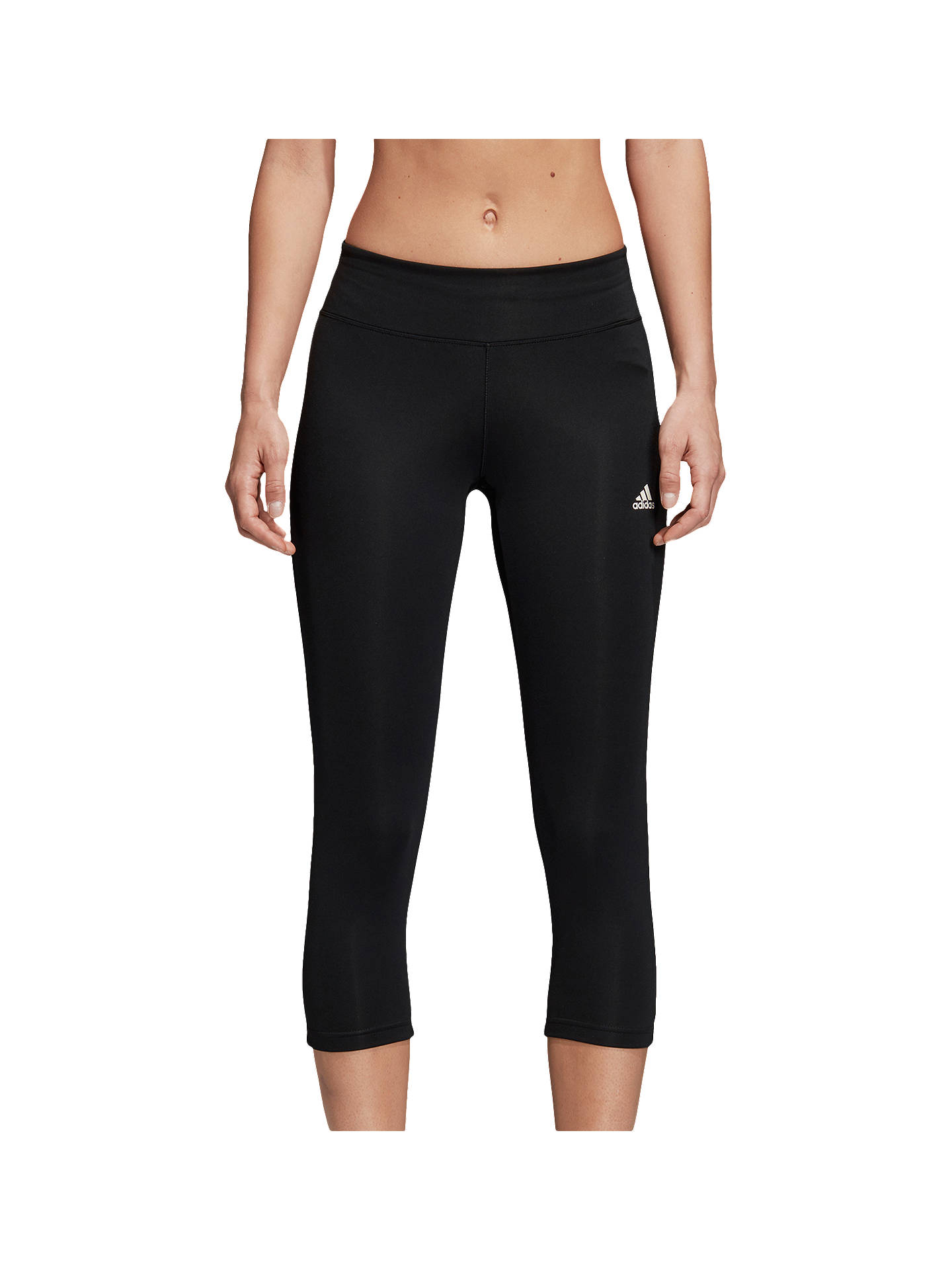 4e1abd33 Buy adidas D2M 3/4 Capri Training Tights, Black, Black, XS Online ...
