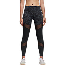 Buy adidas Training Ultimate High-Rise Printed Tights, Black Online at johnlewis.com