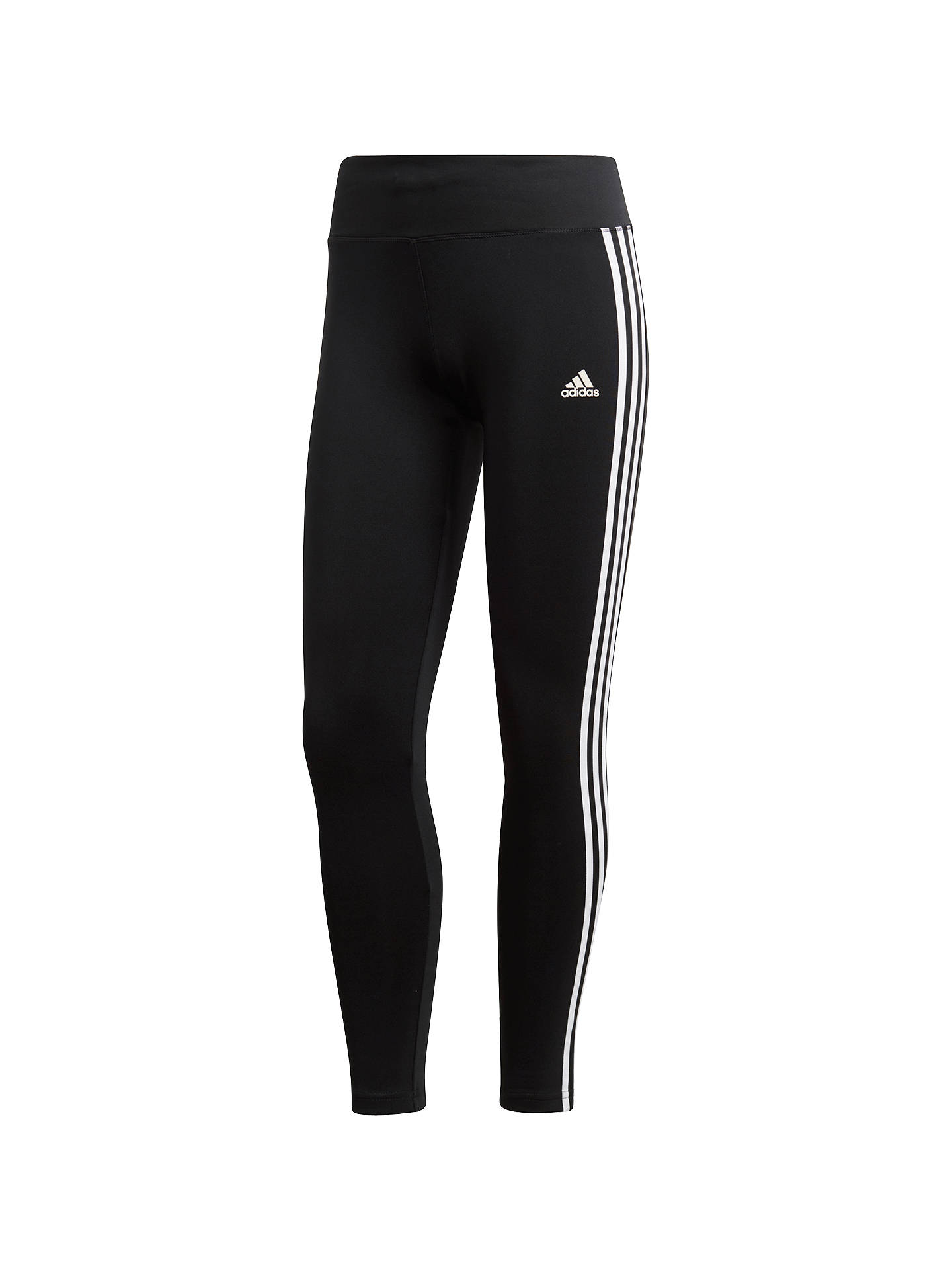 7fd7bf630d442 Buy adidas Designed 2 Move Climalite 3-Stripes Training Tights, Black, XS  Online ...