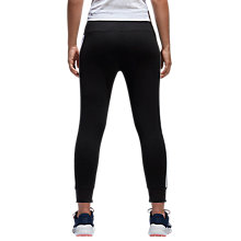 Buy Adidas Essential 3-Stripes Tights, Black Online at johnlewis.com