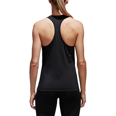 adidas D2M Solid Training Tank, Black