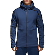 Buy adidas Z.N.E. 2 Men's Hoodie, Noble Indigo Online at johnlewis.com