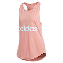 Buy Adidas Essentials Climalite Tank Top, Trace Pink Online at johnlewis.com