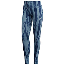 Buy adidas D2M HR Run Training Tights, Raw Grey Online at johnlewis.com