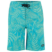 Buy Animal Boys' Lagoona Board Shorts, Blue Online at johnlewis.com