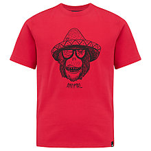 Buy Animal Boys' Monkey Graphic Short Sleeve T-Shirt Online at johnlewis.com