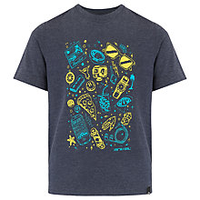 Buy Animal Boys' Tomo Graphic Print T-Shirt, Navy Online at johnlewis.com