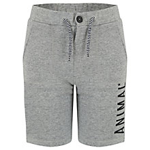 Buy Animal Boys' Cove Jersey Sweat Shorts, Navy Online at johnlewis.com