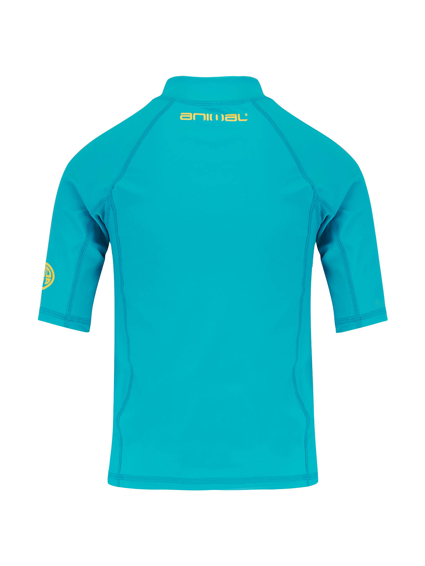 BuyAnimal Boys' Hiltern Rash Vest, Blue, 3-4 years Online at johnlewis.com
