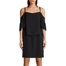 Buy AllSaints Siva Dress, Black Online at johnlewis.com