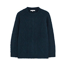 Buy Gerard Darel Lotus Wool Blend Jumper, Blue Online at johnlewis.com
