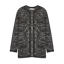 Buy Gerard Darel Lyha Long Sleeve Cardigan, Black Online at johnlewis.com