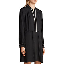 Buy AllSaints Rica Dress, Black Online at johnlewis.com