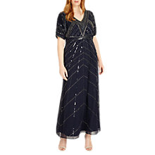 Buy Studio 8 Bethany Maxi Dress, Navy Online at johnlewis.com