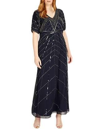 Studio 8 Bethany Maxi Dress, Navy