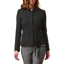 Buy L.K. Bennett Dahl Slim Fit Jacket, Black Online at johnlewis.com