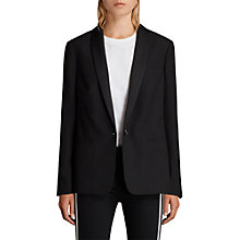 Buy AllSaints Selma Blazer, Black Online at johnlewis.com