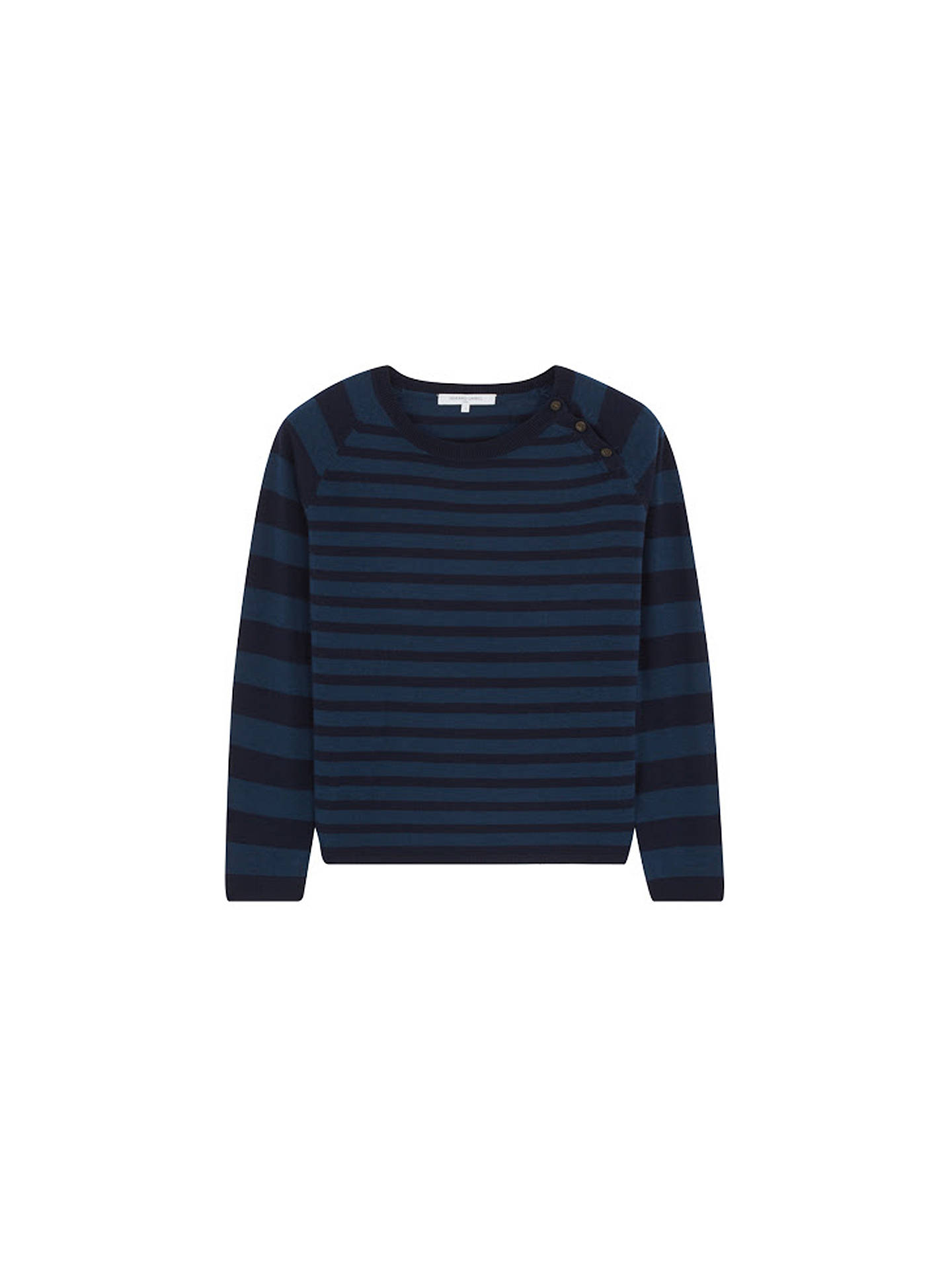 BuyGerard Darel Loulou Merino Wool Jumper, Dark Indigo, 8-10 Online at johnlewis.com