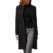 Buy L.K. Bennett Olisa Coat, Black Online at johnlewis.com
