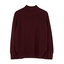 Buy Gerard Darel Louma Merino Jumper, Red Online at johnlewis.com
