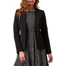Buy L.K. Bennett Orla Suiting Jacket, Black Online at johnlewis.com