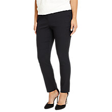 Buy Studio 8 Freddie Pattern Trousers, Black Online at johnlewis.com