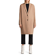 Buy AllSaints Anya Wool Blend Coat Online at johnlewis.com