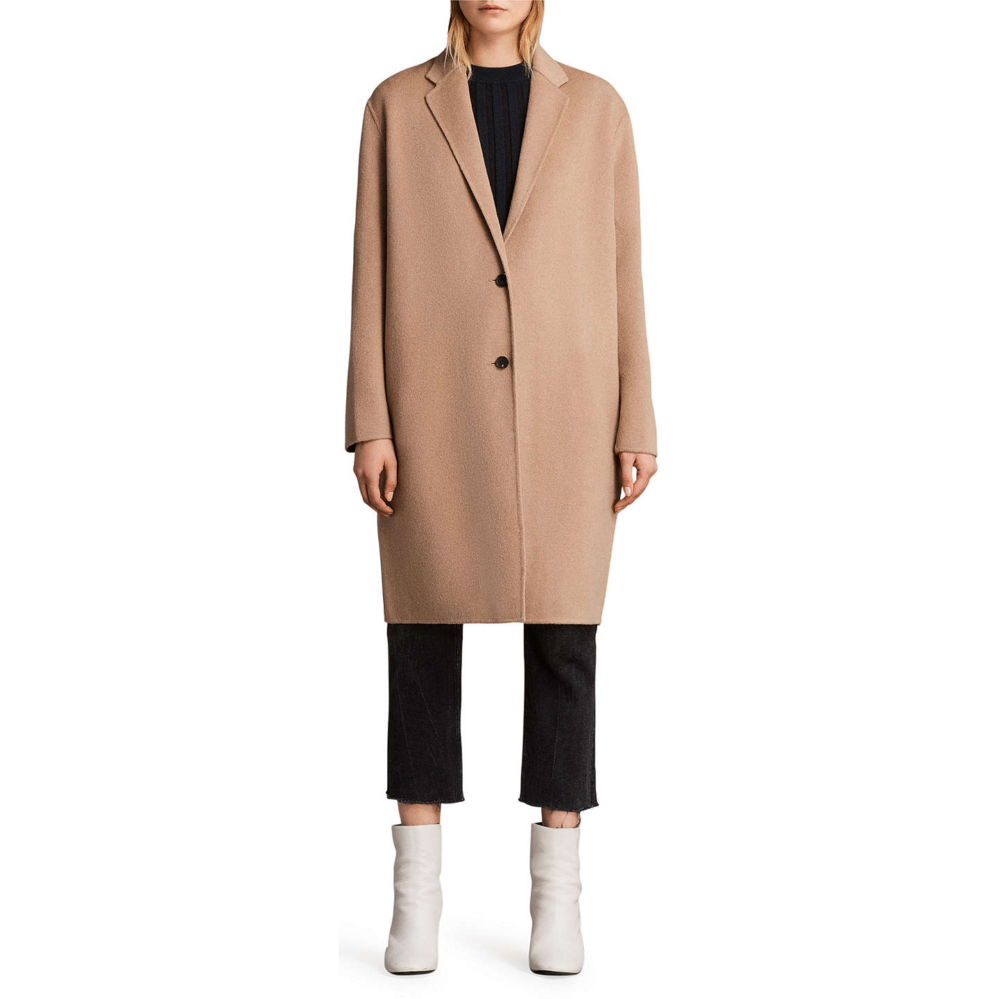 Cute camel washing machine wiring diagram images wiring diagram allsaints anya wool blend coat camel at john lewis cheapraybanclubmaster Image collections