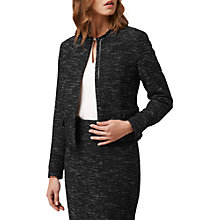 Buy L.K. Bennett Joyce Tweed Jacket, Cream Tweed Online at johnlewis.com