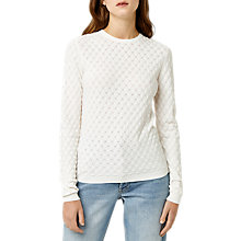 Buy Warehouse Scallop Stitch Jumper Online at johnlewis.com
