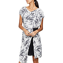 Buy Mint Velvet Indra Print Cowl Neck Dress, Multi Online at johnlewis.com