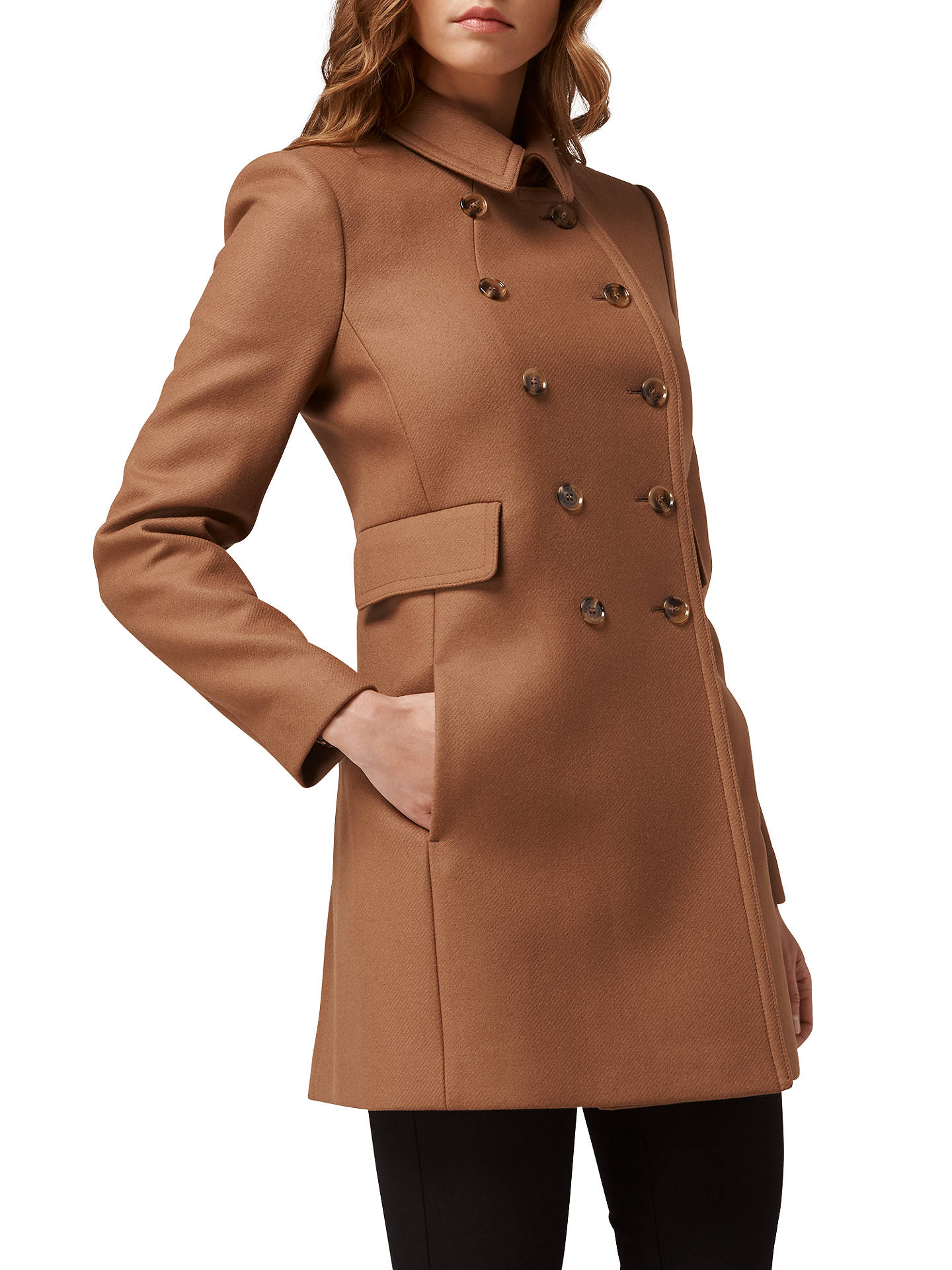 60% clearance novel style diversified latest designs L.K. Bennett Felli Short Military Coat at John Lewis & Partners