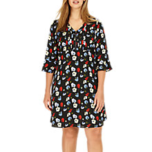 Buy Studio 8 Andrea Floral Tunic Dress, Black/Multi Online at johnlewis.com