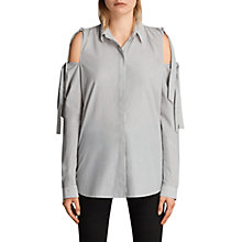 Buy AllSaints Evelyn Striped Shirt, Stripe Online at johnlewis.com