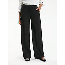 Buy Boden Charlbury Trousers, Black Online at johnlewis.com