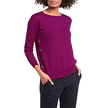 Buy Boden Grace Button Jumper Online at johnlewis.com