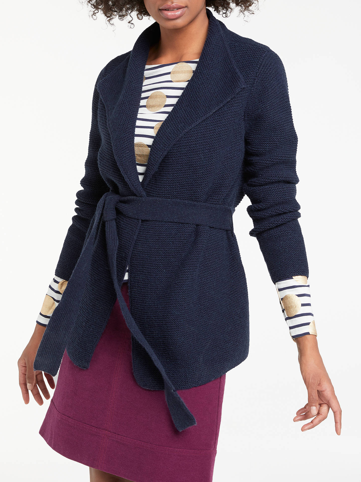 Boden Fiona Cardigan Navy At John Lewis Partners
