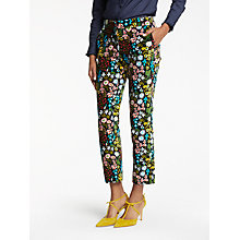 Buy Boden Velvet Trousers, Multi Forest Online at johnlewis.com