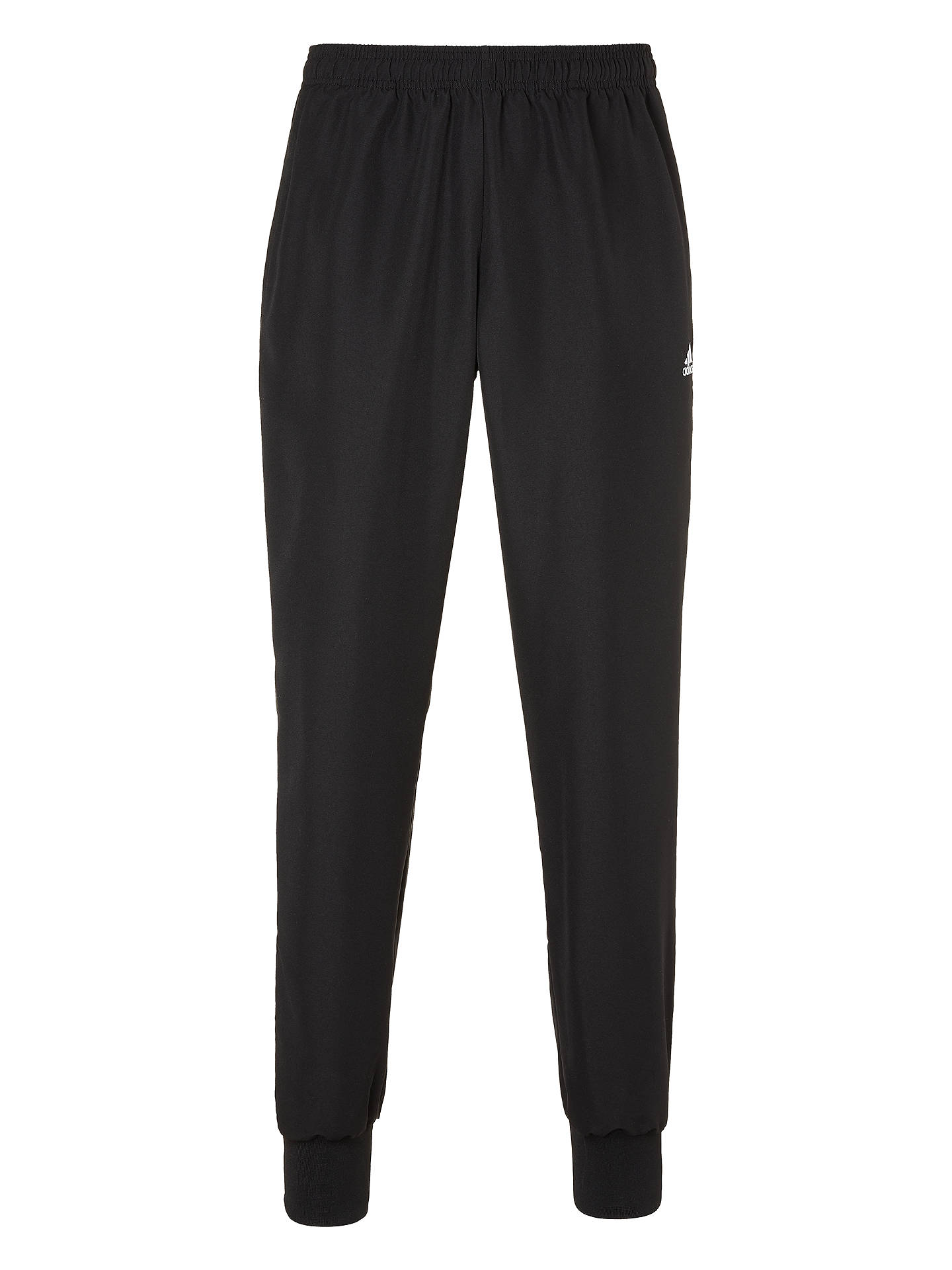 Buy adidas Essential Stanford 2.0 Tracksuit Bottoms, Black, S Online at johnlewis.com