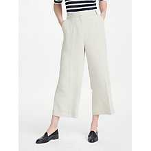 Buy John Lewis Wide Leg Cropped Trousers Online at johnlewis.com