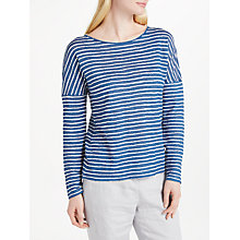 Buy Collection WEEKEND by John Lewis Hand Drawn Stripe Top Online at johnlewis.com