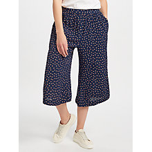Buy Collection WEEKEND by John Lewis Dot Print Culottes, Navy Online at johnlewis.com
