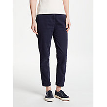 Buy Collection WEEKEND by John Lewis Relaxed Chinos, Navy Online at johnlewis.com