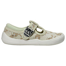 Buy Clarks Children's Doodles Briley Bow Shoes, Multi Online at johnlewis.com