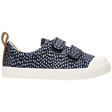 Buy Clarks Children's Halcy Hati Casual Shoes, Navy Spot Online at johnlewis.com