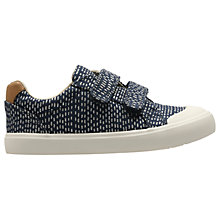 Buy Clarks Children's Comic Cool Shoes, Navy Online at johnlewis.com