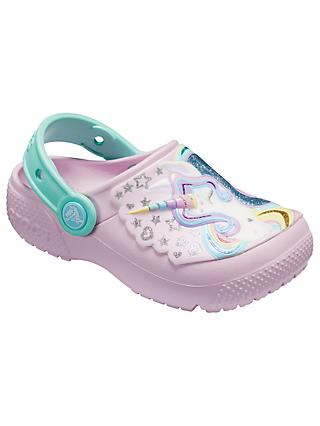 Crocs Children's Fun Lab Clogs, Pink