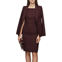 Buy Reiss Atlee Tailored Dress, Berry Online at johnlewis.com