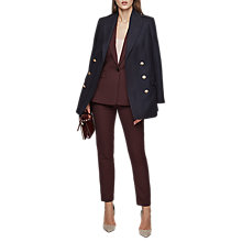 Buy Reiss Atlee Tailored Trousers, Berry Online at johnlewis.com
