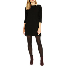 Buy Phase Eight Esmerelda Eyelet Tunic Dress, Black Online at johnlewis.com